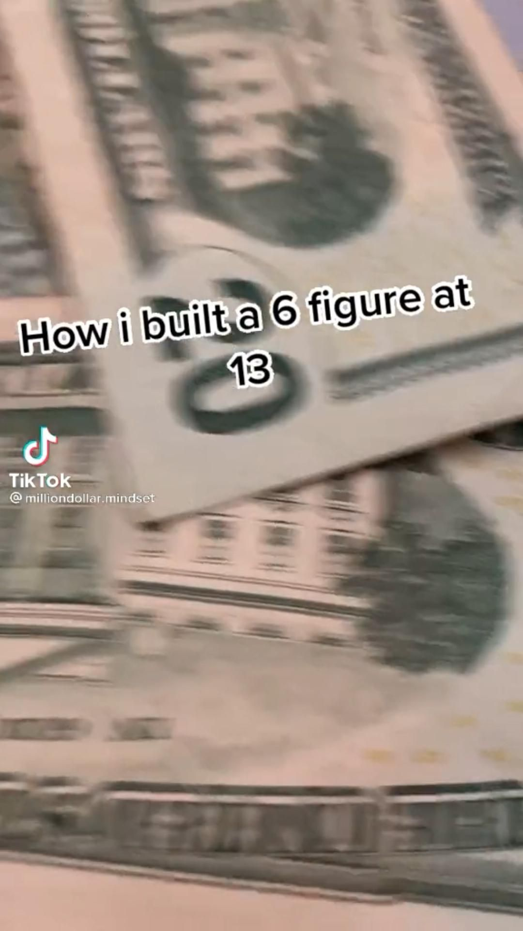 How to make 6 figures as a teen! 💸 Click the link in my bio to learn!