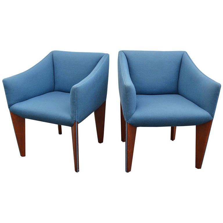 Pair of Italian Modernist Chairs | From a unique collection of antique and modern armchairs at https://www.1stdibs.com/furniture/seating/armchairs/