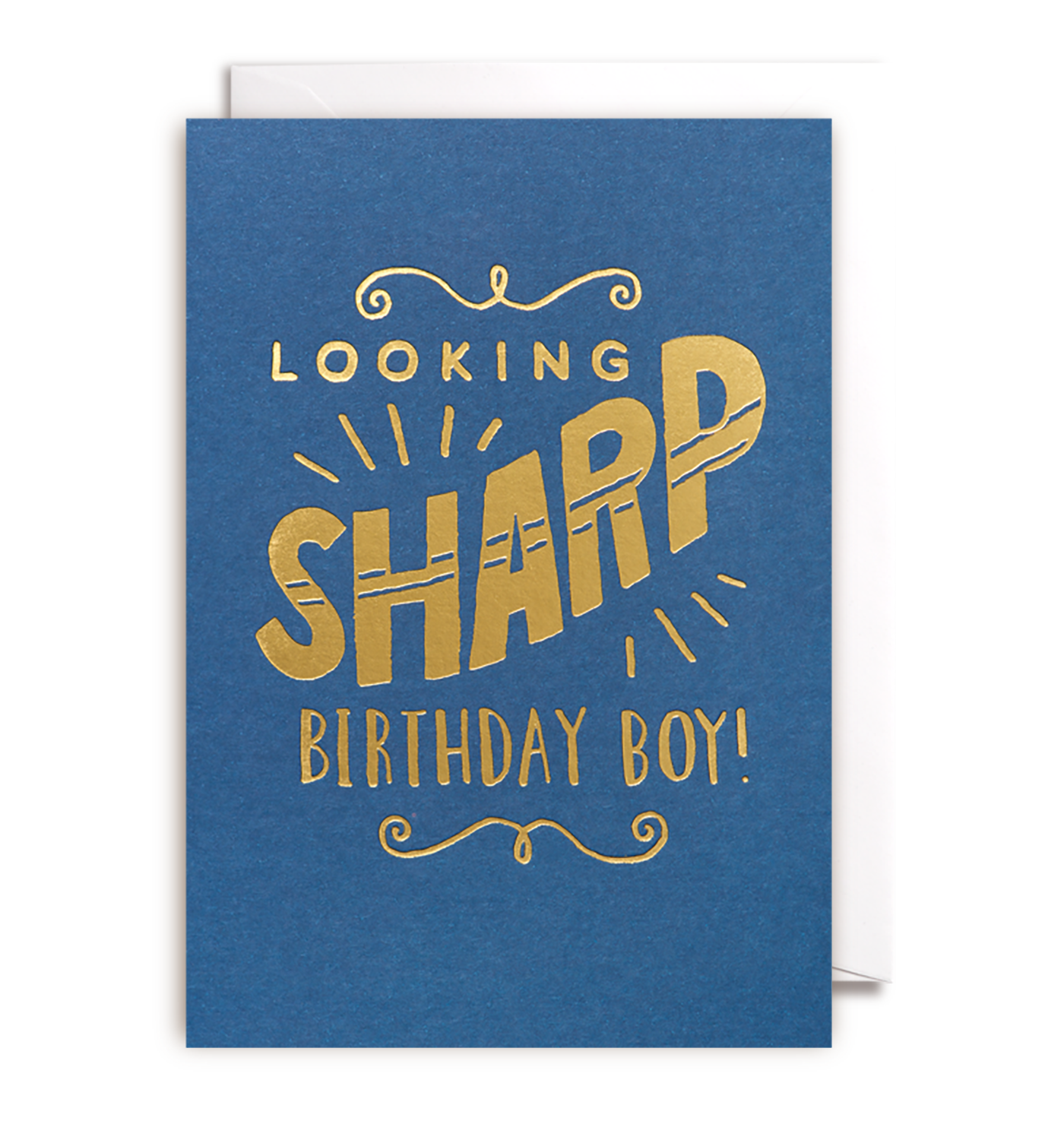 Looking Sharp Birthday Boy Card Birthday Boys Special Person And