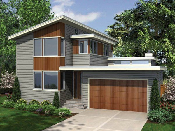 Plan No 329712 House Plans By Westhomeplanners Com Contemporary House Plans Modern House Plans Modern Style House Plans