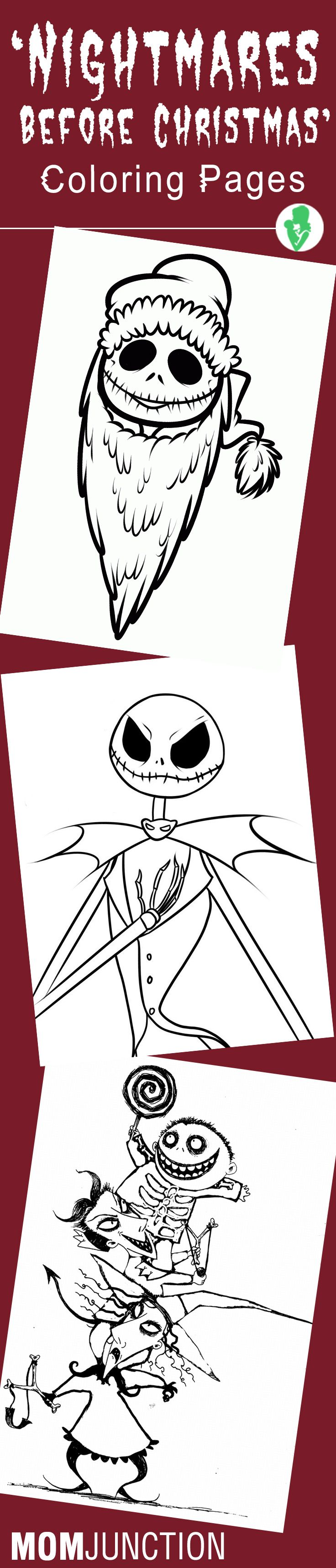 Top unightmare before christmasu coloring pages for your little
