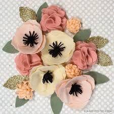 Resultado de imagen para felt flowers