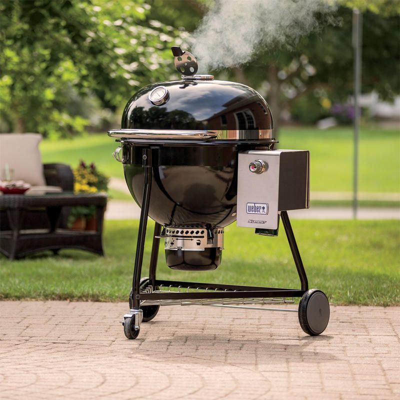 The Weber Summit Charcoal Grill S Combination Of Capability And Convenience Adds A New Dimension To Kamado Cooking No Matte Charcoal Grill Weber Charcoal Grill