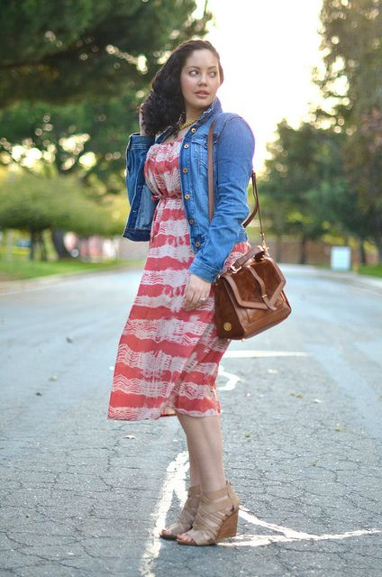 Fashionable Thoughts: Stylish Thoughts - Girl With Curves