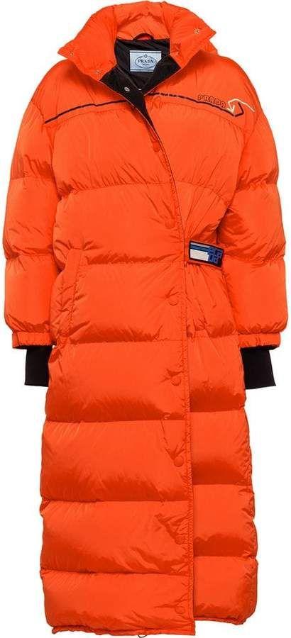536a1738dd2 Prada puffer coat | Products | Coat, Prada, Down puffer coat