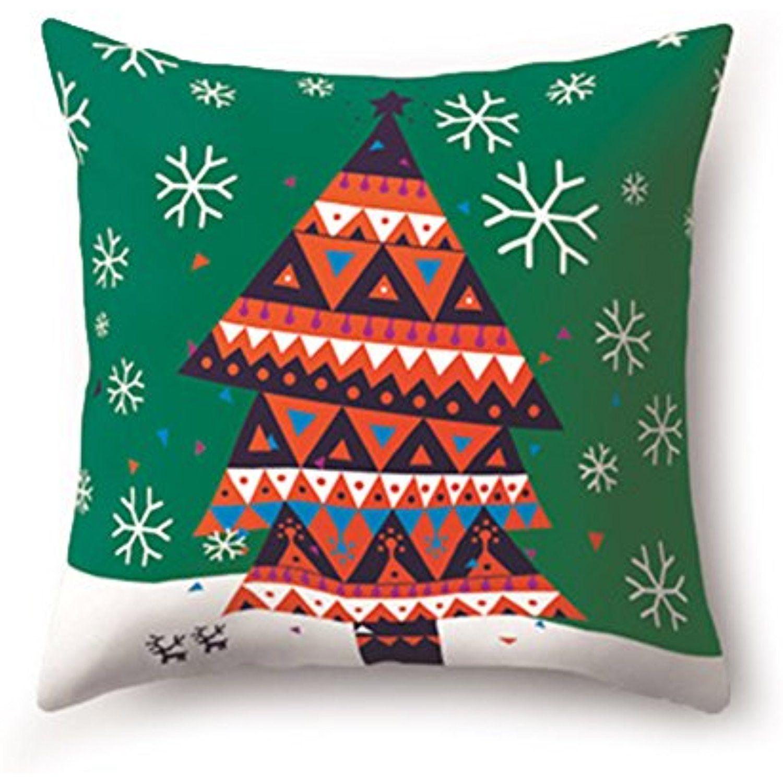 Stretoey christmas cartoon elastic cotton home with pillowcase