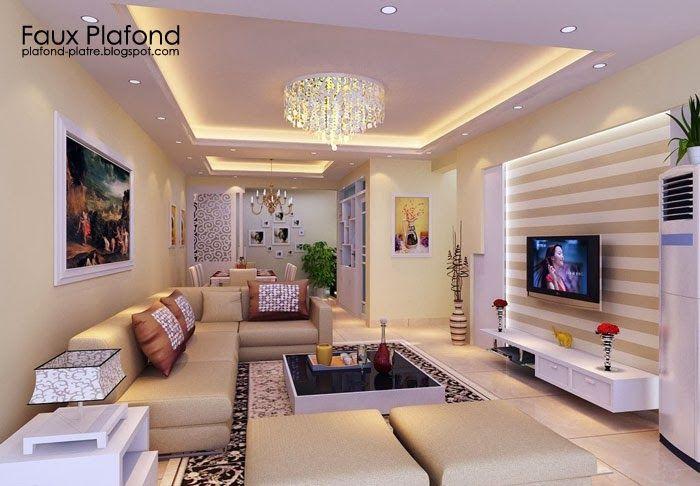 Idee Simples Faux Plafonds Pour Maisons Plafond Design