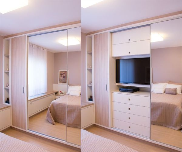 Schlafzimmer porta ~ Dormitório casal ahorro de espacio pinterest bedrooms room