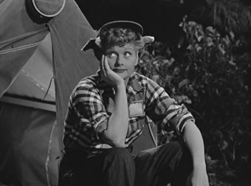i love lucy camping trip