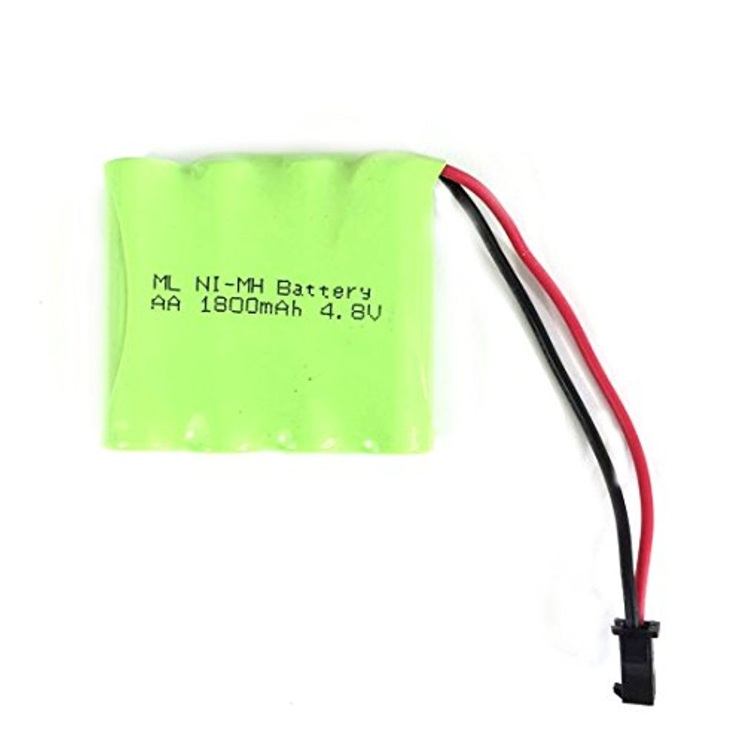 Saige 4 8v 1800mah 4x Aa Ni Mh Rc Rechargeable Battery Pack For Helicopter Robot Car Toys W Small Clip Plug Awe Rechargeable Batteries Battery Pack Toy Car