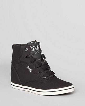 ef0bae17b31 Keds Lace Up High Top Wedge Sneakers - Rookie
