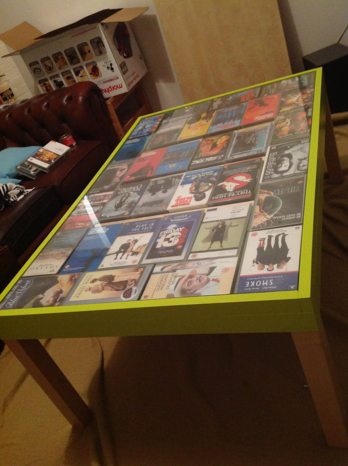 Vh Yes Coffee Table Lack Ing No More Build It Vhs Crafts Tape
