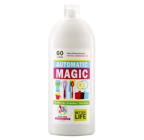 Better Life Automatic Magic Natural Dishwasher Gel Dishwasher Detergent Natural Dishwasher Detergent Better Life