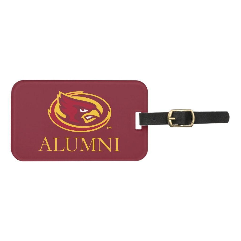 Iowa State University | Iowa Alumni Luggage Tag | Zazzle.com