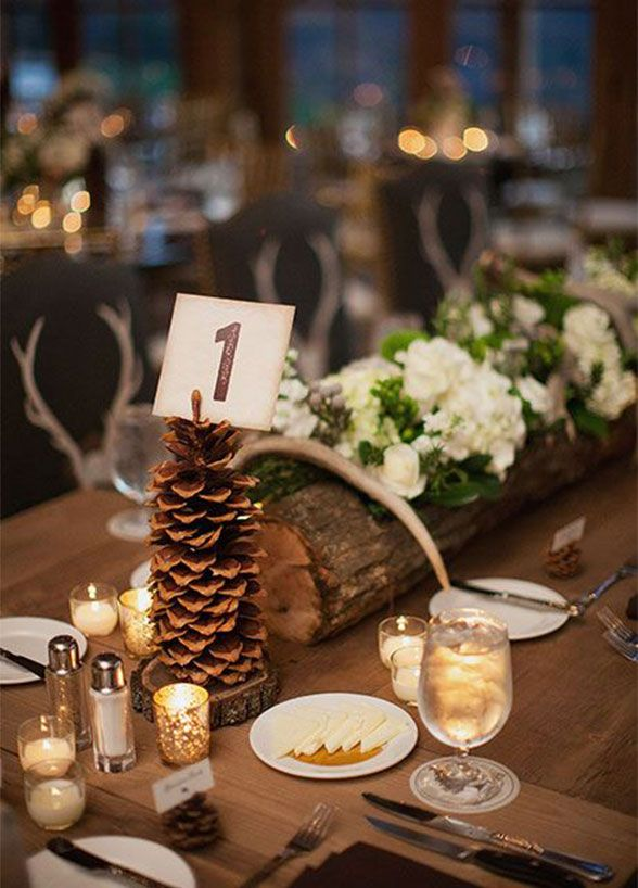 Upgrade Your Table Dcor With Fresh Pinecones They Add A