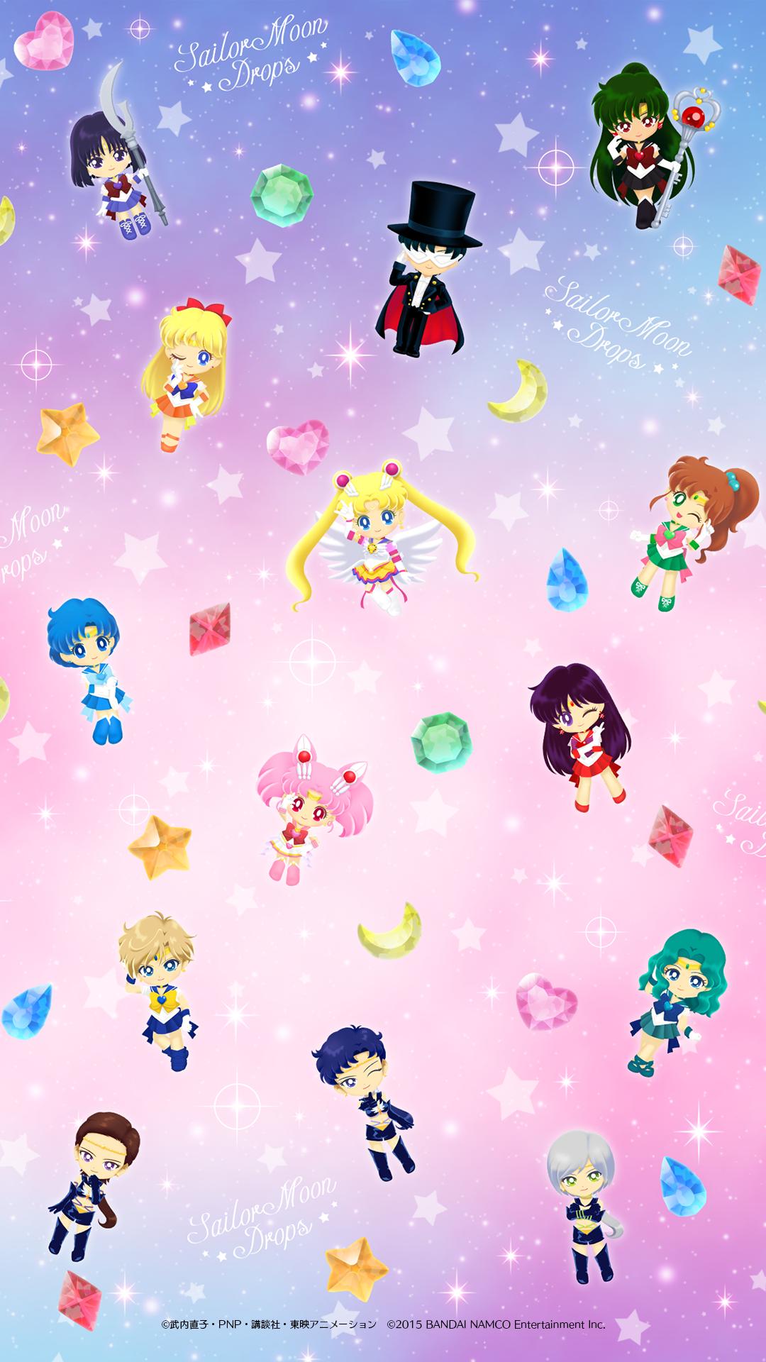 All Of The Sailor Moon Drops Unlockable Wallpapers