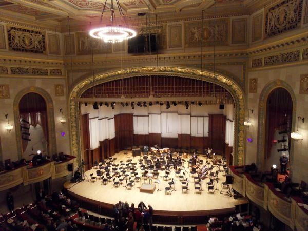 Orchestra Hall At The Max M Fisher Music Center Home Of Detroit Symphony