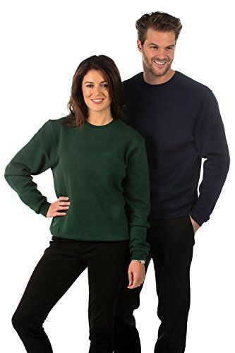 Cotton//Polyester Mens /& Ladies Bruntwood Classic Crew Neck Sweatshirt 280GSM