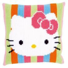 Maya L Abeille Coussin Point De Croix Vervaco Point De Croix Chat Hello Kitty Kit Point De Croix