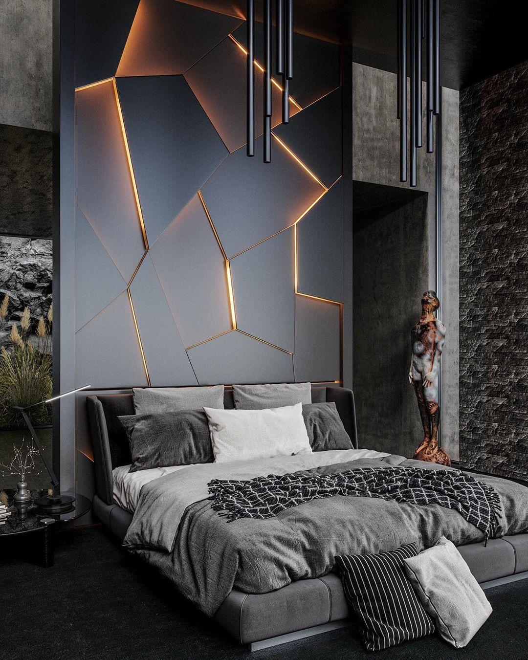 Case Moderne Interni Camere Da Letto.Lavaboy Bedroom And Bathroom Concept By 3dmstudio Image