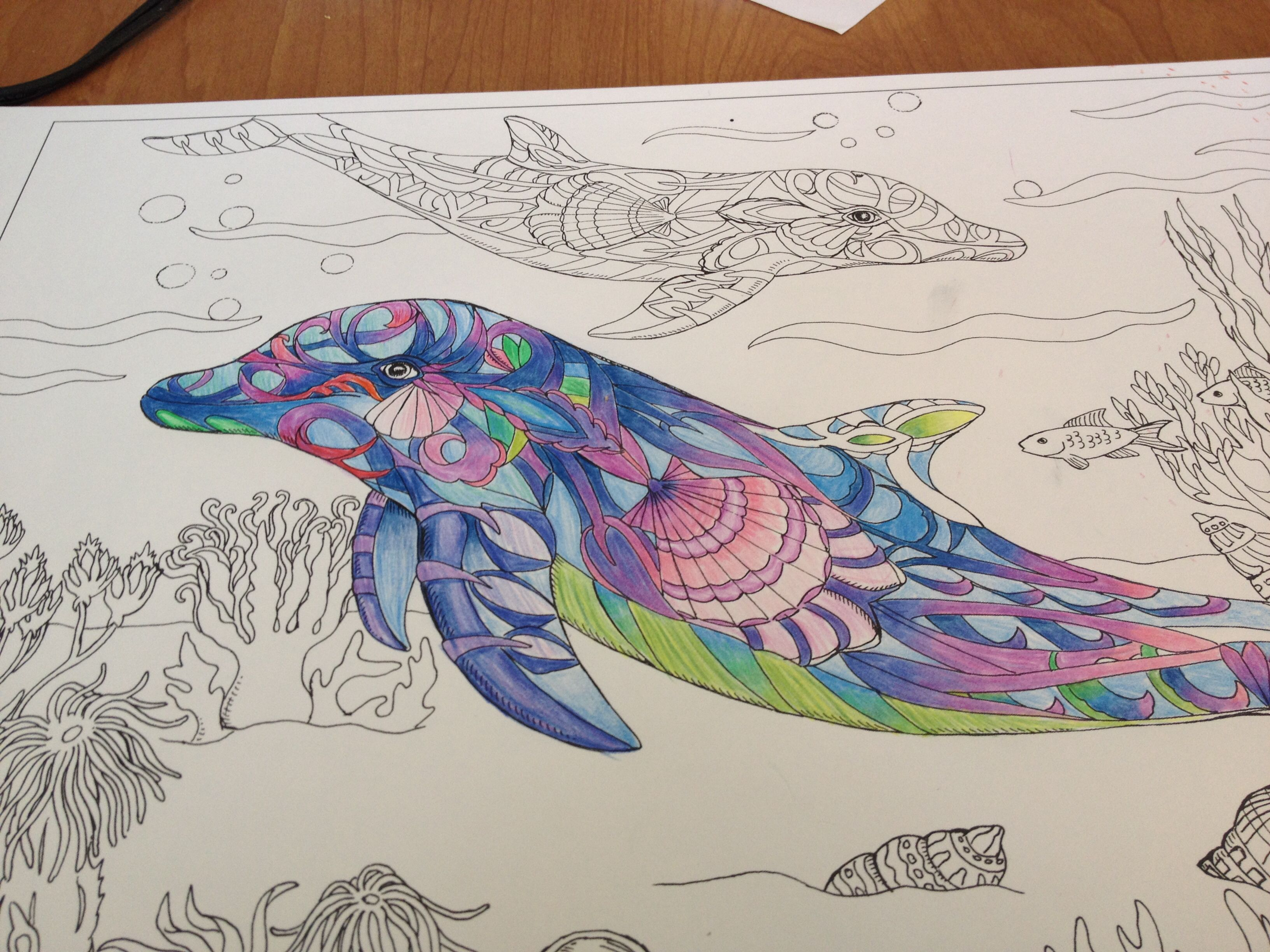 I LOVE COLORING!