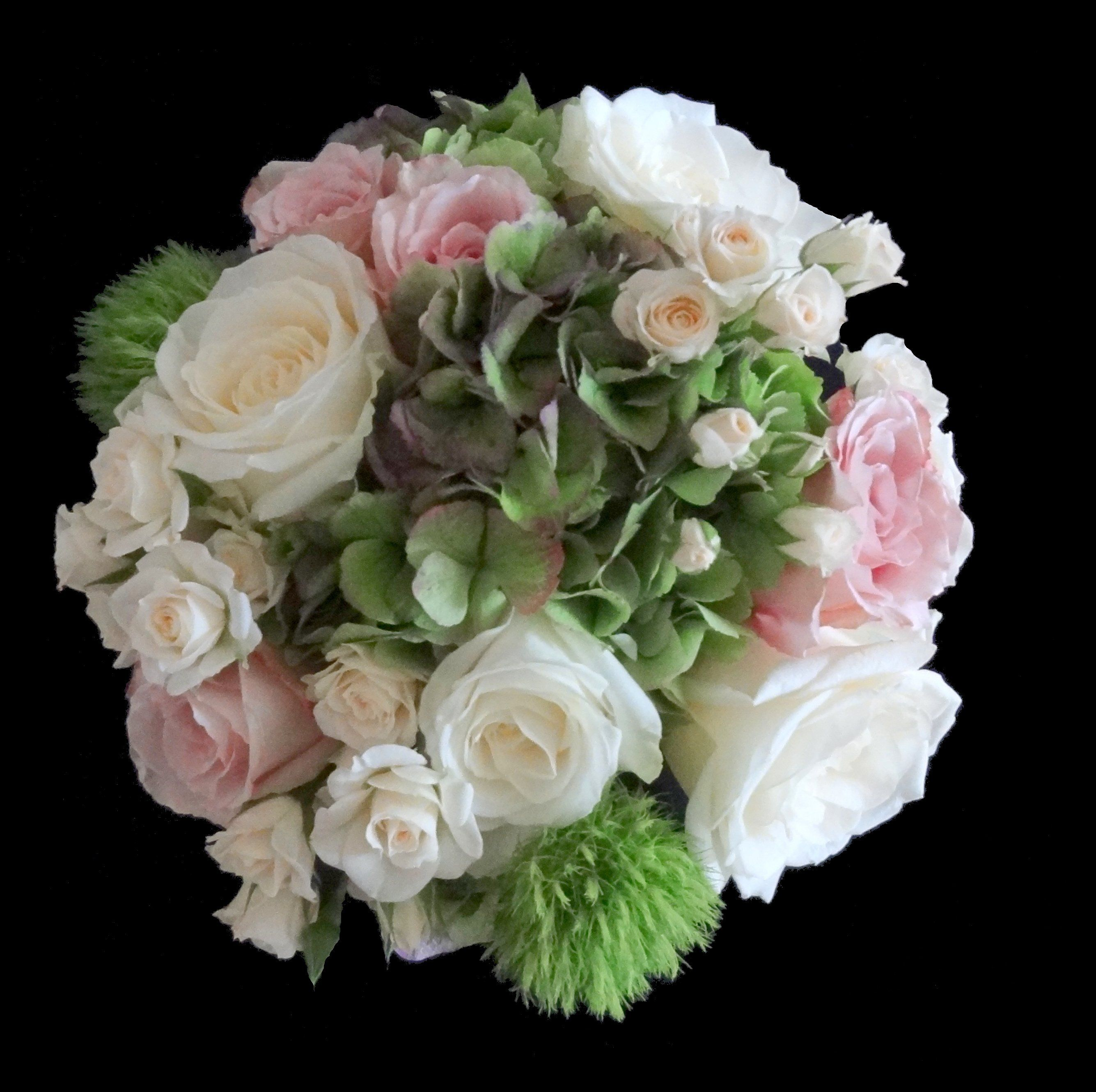 Pastel Wedding Bouquet By Rosie Woodward Floral Design