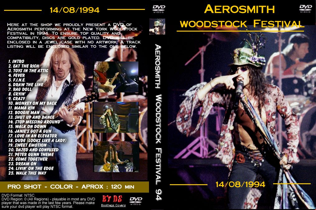 Aerosmith Woodstock 94 Full Concert Woodstock