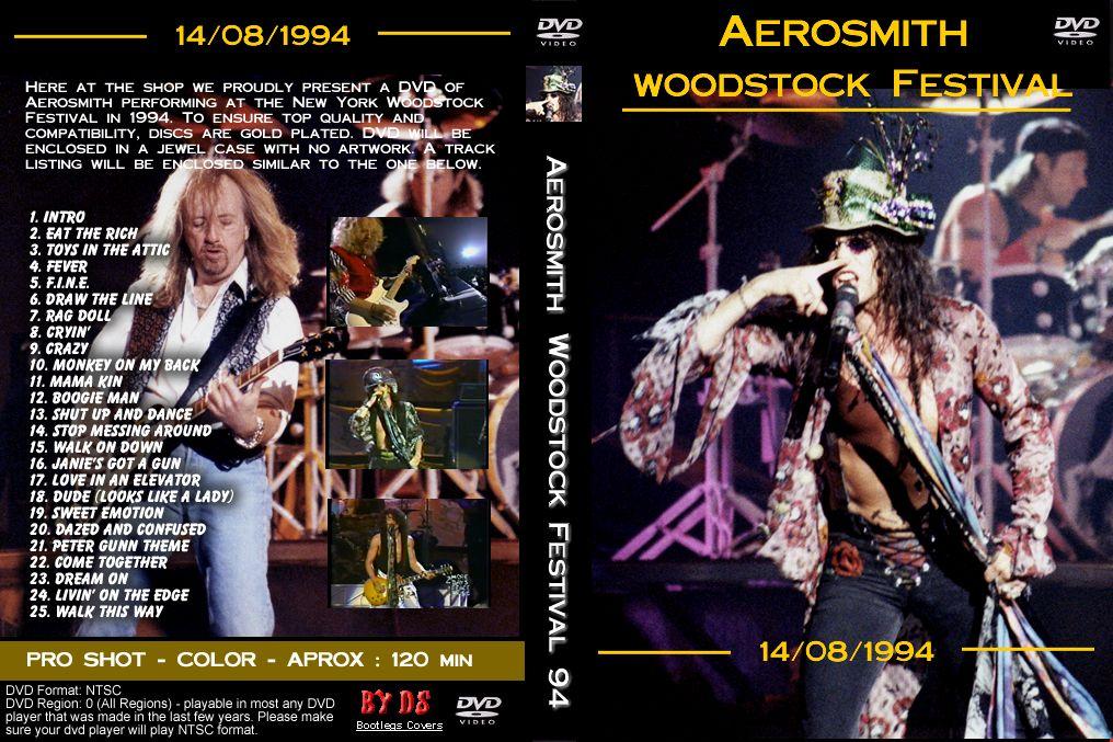 Aerosmith Woodstock 94 Full Concert Aerosmith Woodstock Woodstock Festival