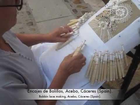 AMIGAS DEL BOLILLO ( Como contar pares para una labor) - YouTube