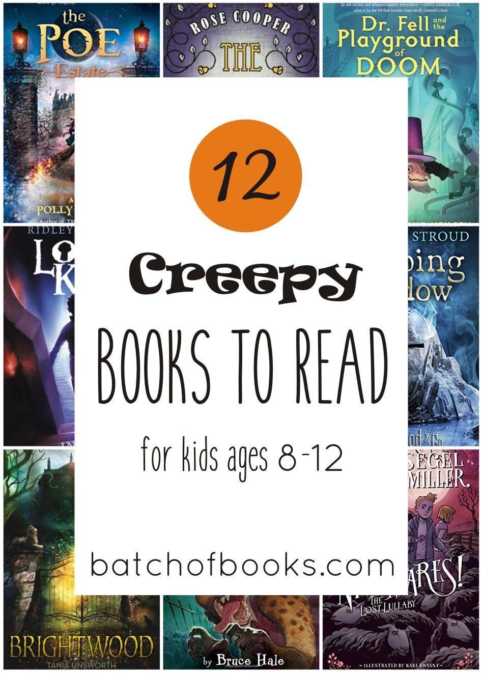 12 Creepy Middle Grade Books To Read This Fall Scary Books For