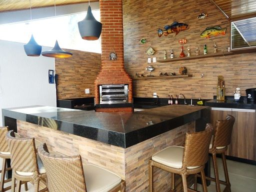 Outdoorküche Deko Uñas : Área externa simples com churrasqueira casa pinterest zelte