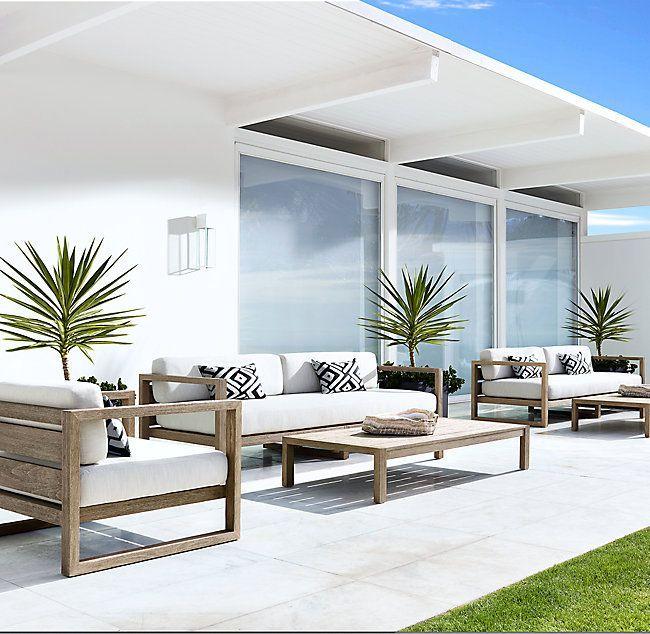 93 Aegean Luxe Teak Sofa