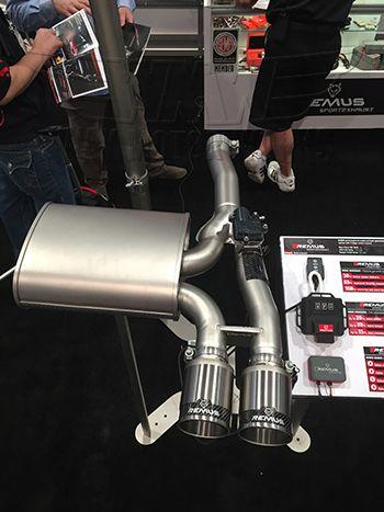 remus race exhaust for f56 mini cooper