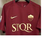 new styles f210b 2d8d7 RARE AS ROMA SPQR Limited Edition Derby Kit Player Issue 16 ...
