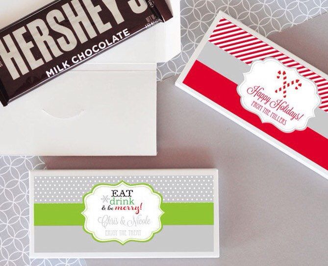 A personal favorite from my Etsy shop https://www.etsy.com/listing/577816183/holiday-candy-bar-wrapper-set-of-24