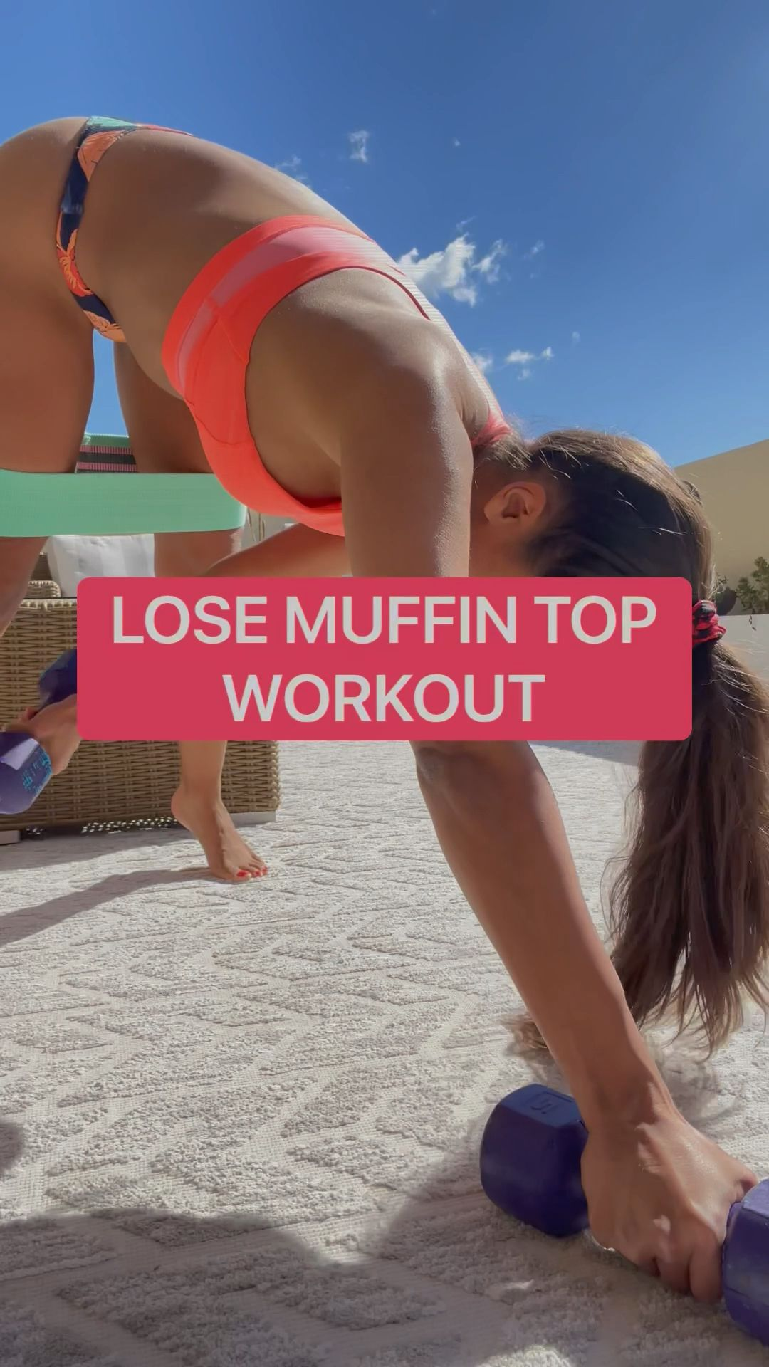 HOW TO LOSE THE MUFFIN TOP