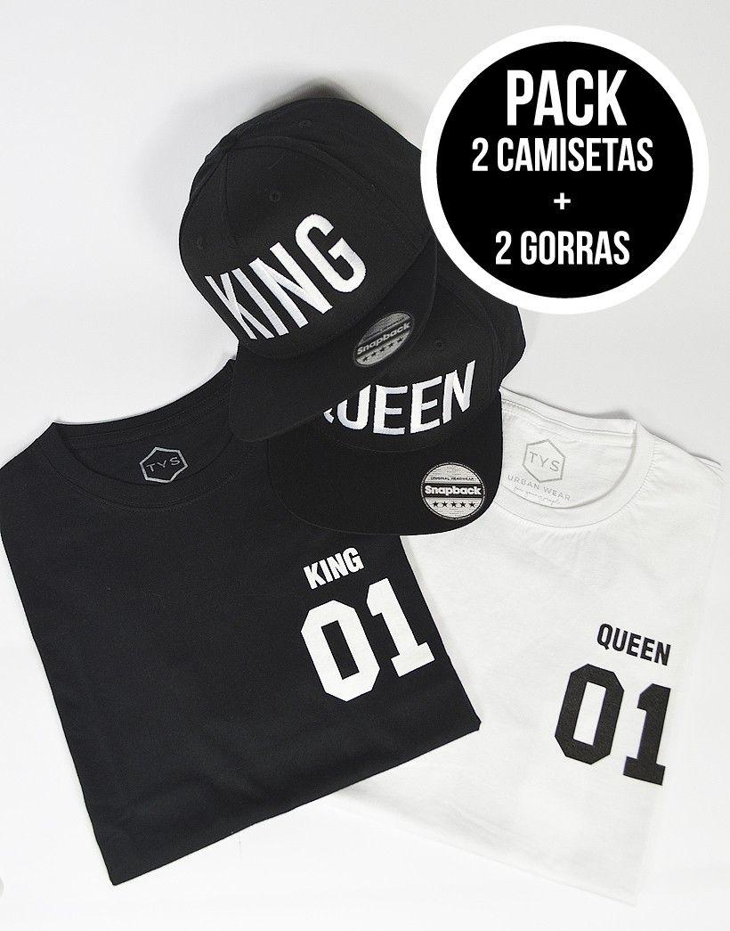 foto de Increíble oferta: Llévate dos gorras bordadas King y Queen