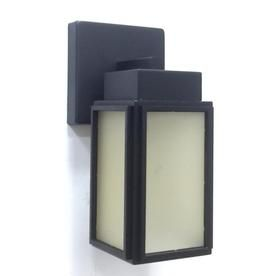 Portfolio 8 1 In H Bronze Led Outdoor Wall Light Wll103bz