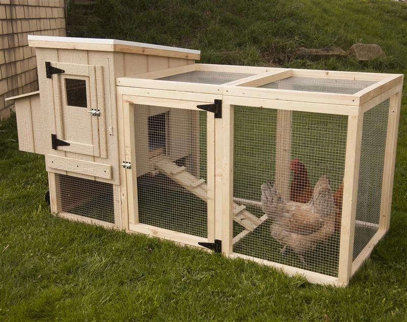 Portable backyard chicken coop 50 year warrenty for Portable hen house