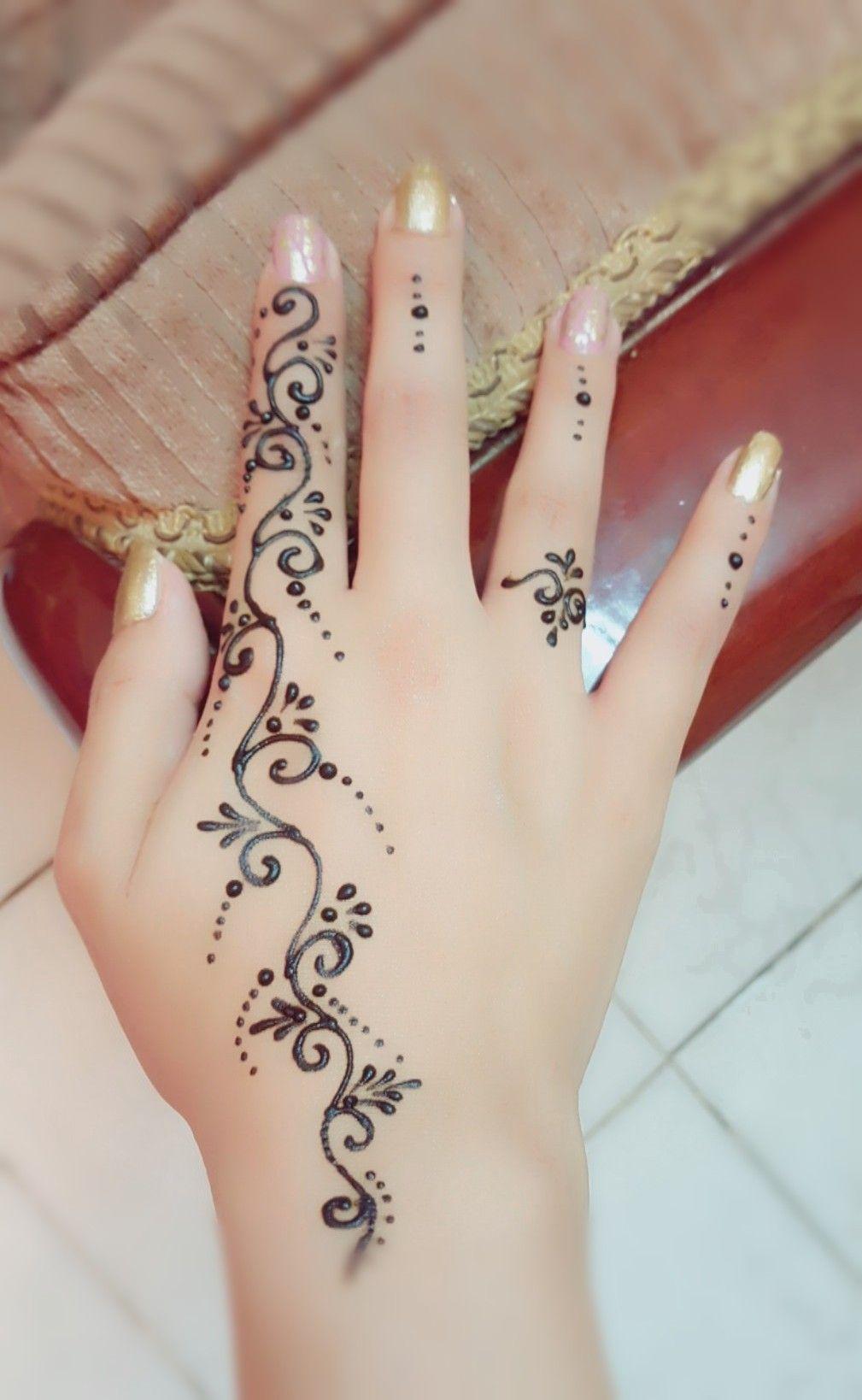 Nice Simple Simple Henna Tattoo Finger Henna Henna Designs