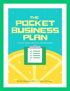 The Pocket Business Plan: A Super Simple Business Plan