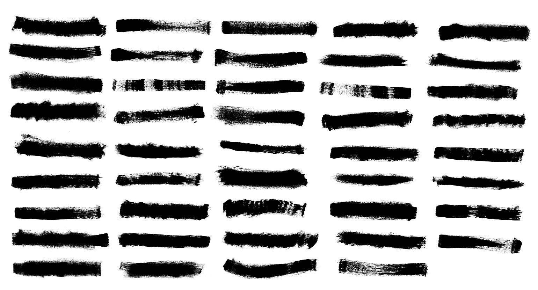 44 Grunge Brush Stroke Banner Png Transparent Vol 3 Onlygfx Com Brush Strokes Grunge Banner