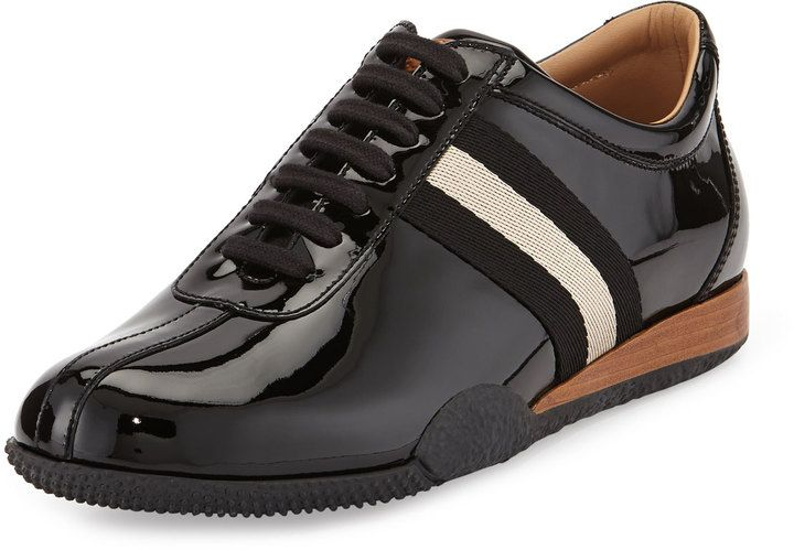 Bally Frenz Patent Leather Sneaker