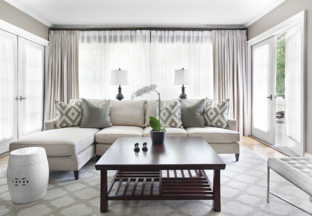 How to choose curtains for your living room living room - How to pick curtains for living room ...