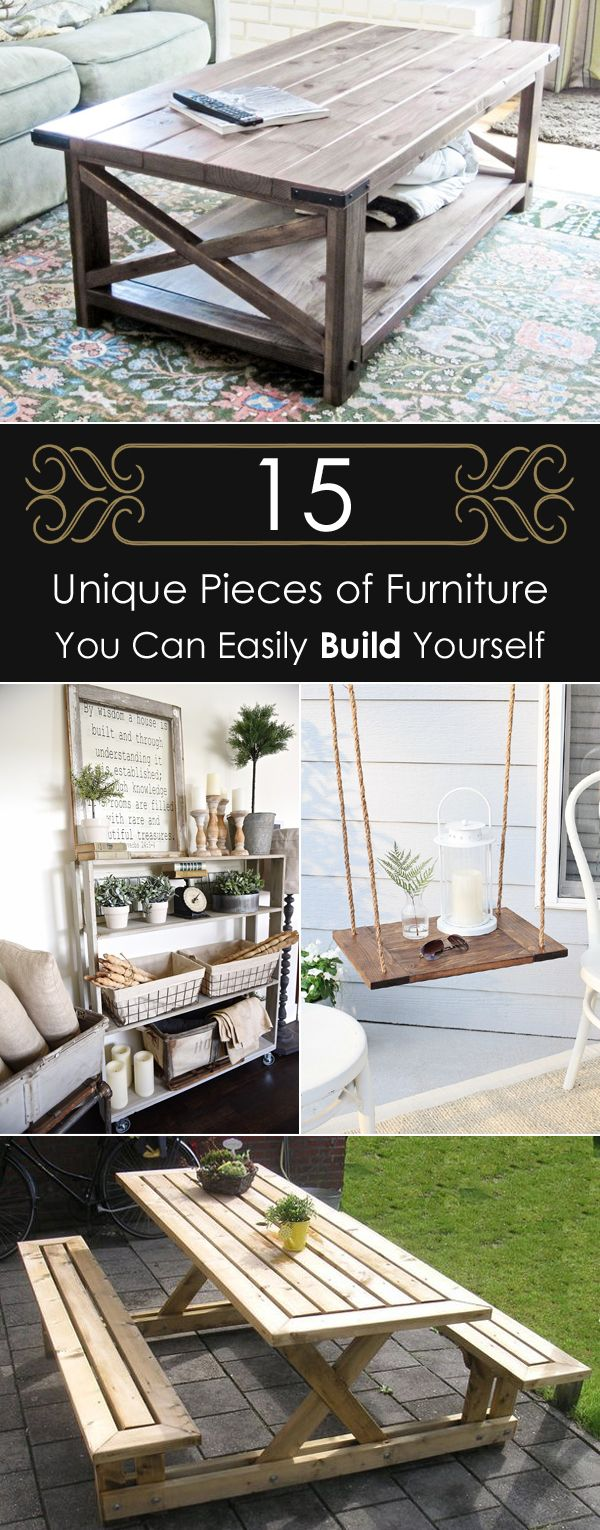15 Unique Pieces of Furniture You Can Easily Build Yourself ...