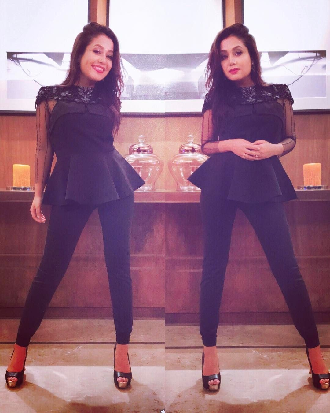 Black has to be one of my most favourite colours!! Neha