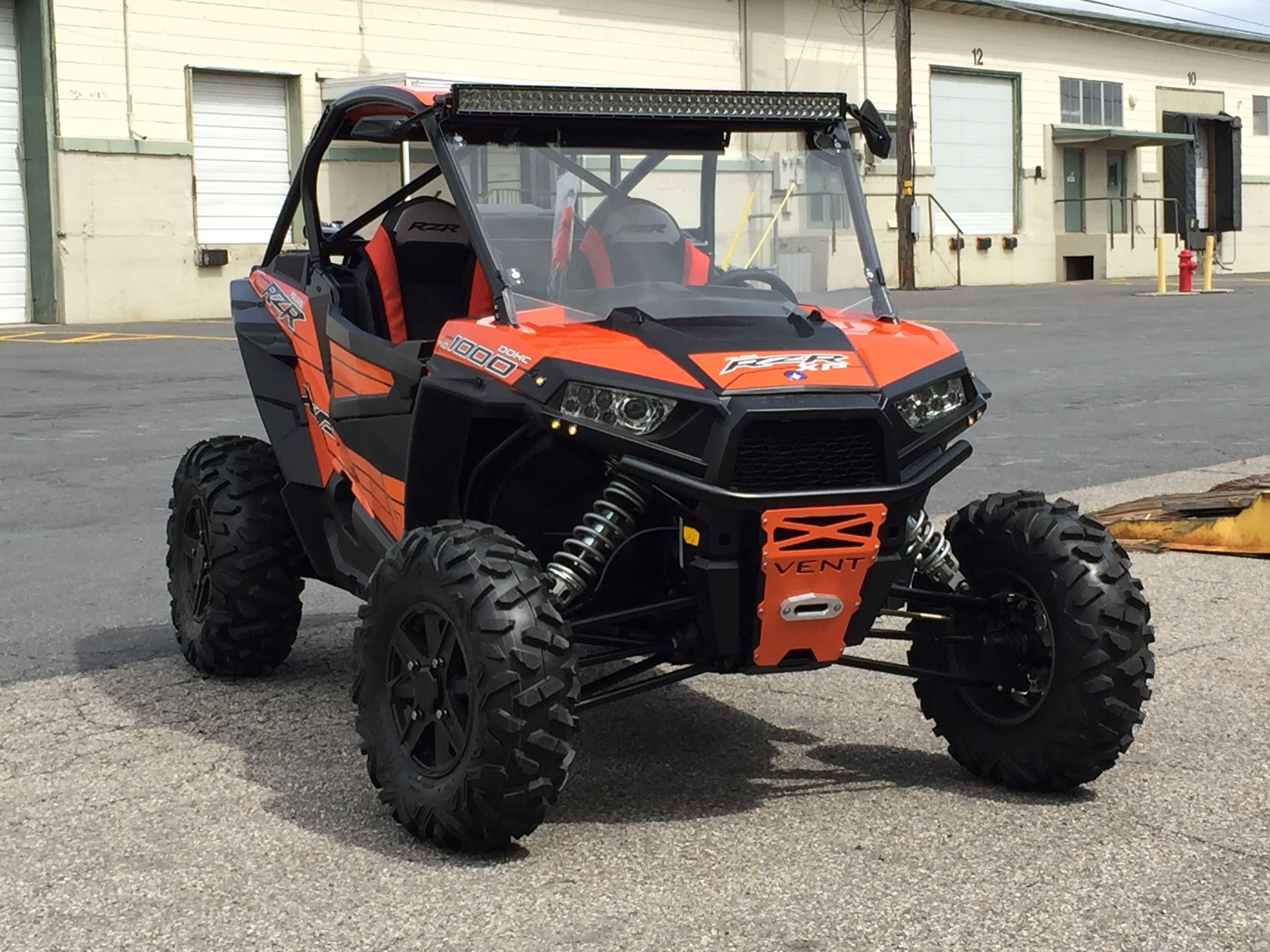 Polaris rzr xp 1000 4 seat coupe cage with roof windshield 42