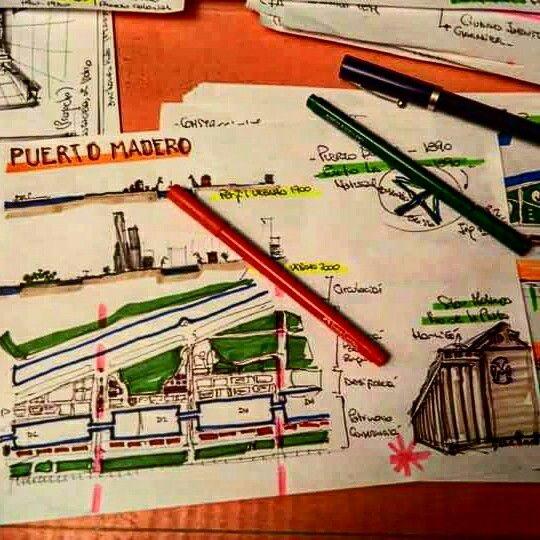 Puerto Madero... Un clásico de #ArquiViajes.. Los esperamos en nuestros recorridos arquitectónicos.