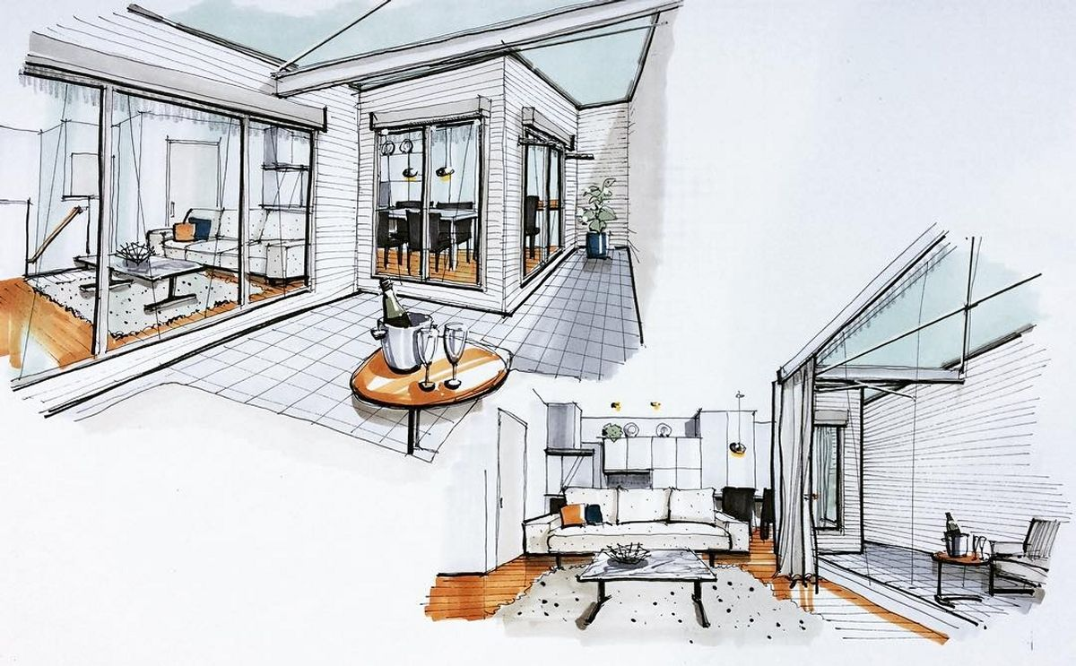 Inspiring Interior Design Drawings Ideas Interior Design Drawings Designs To Draw Architecture Drawing