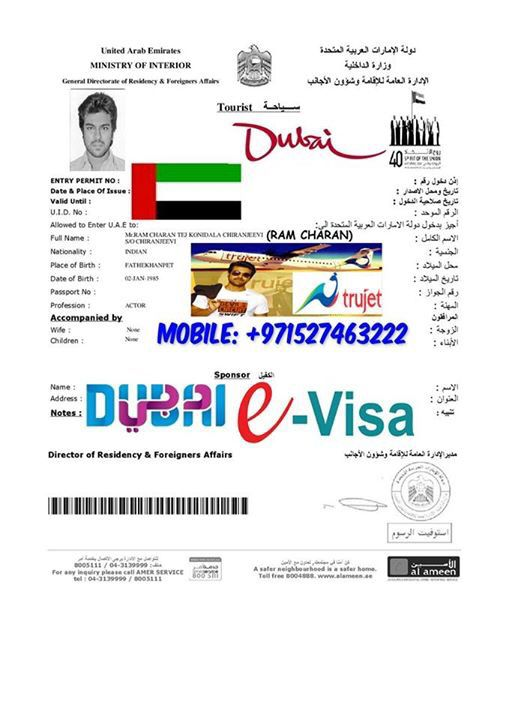 Dubai Tourist Visa Pls Contact 971527463222 Whatsapp Available
